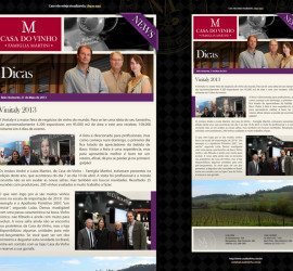 NEWSLETTER CASA DO VINHO