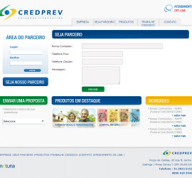 CRIAÇÃO DE SITES: WEBSITE CREDPREV – WORDPRESS