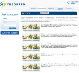 CRIAÇÃO DE SITES: WEBSITE CREDPREV