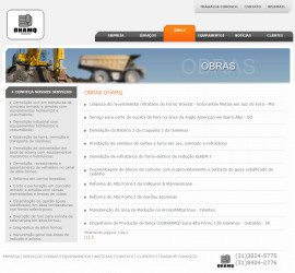 CRIAÇÃO DE SITES: WEBSITE DHAMQ – WORDPRESS