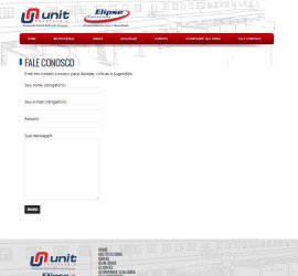 WEBSITE CONSTRUTORA ELIPSE/UNIT