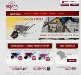 CRIAÇÃO DE SITES: WEBSITE ESFERA