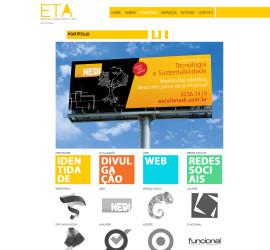 CRIAÇÃO DE SITES: WEBSITE ETA DESIGN – WORDPRESS