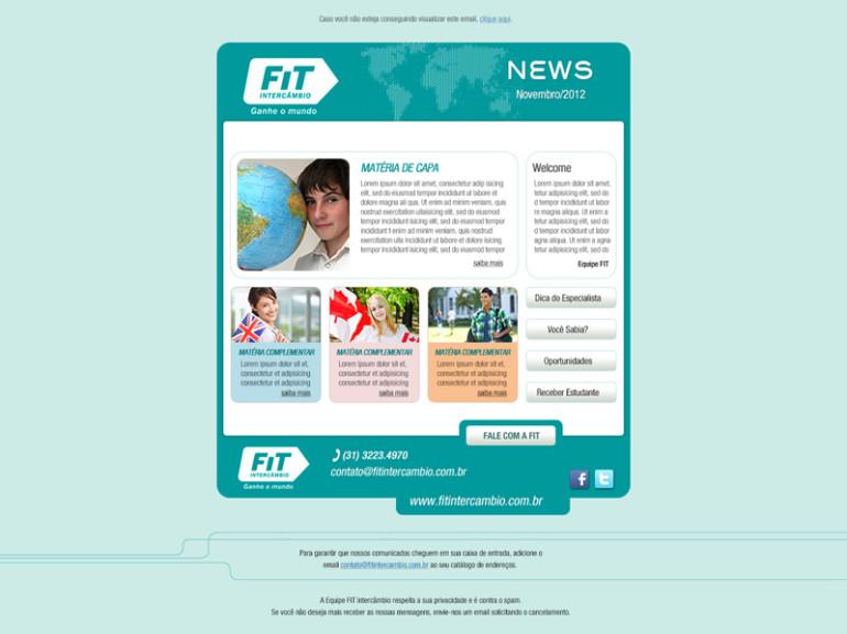 NEWSLETTER FIT INTERCÂMBIO