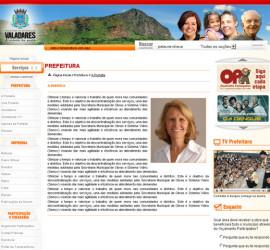 CRIAÇÃO DE SITES: PORTAL DA PREFEITURA DE GV – WORDPRESS