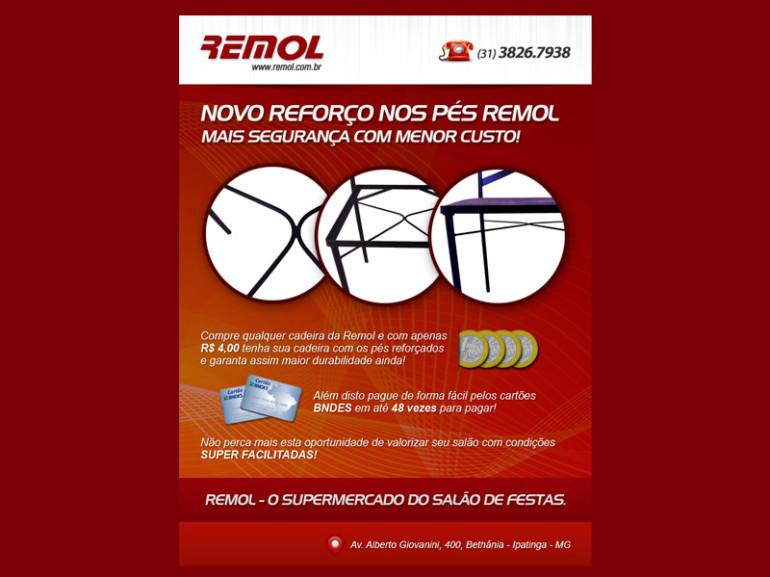 NEWSLETTER REMOL – NOVO REFORÇO