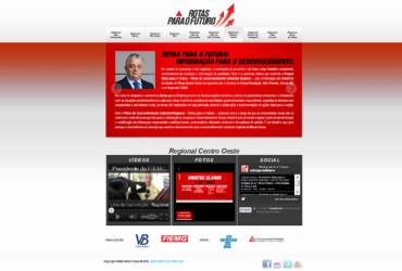 CRIAÇÃO DE SITES: WEBSITE ROTAS PARA O FUTURO