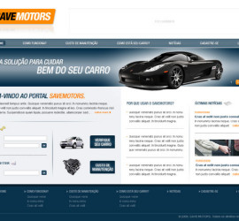 CRIAÇÃO DE SITES: PORTAL SAVE MOTORS