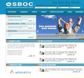CRIAÇÃO DE SITES: PORTAL SBOC – WORDPRESS