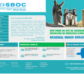 CRIAÇÃO DE SITES: WEBSITE SBOC MG
