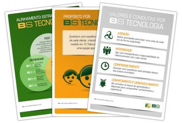 SINALIZAÇÃO INTERNA BS TECNOLOGIA