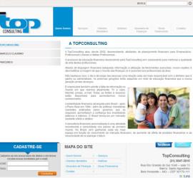 CRIAÇÃO DE SITES: WEBSITE TOP CONSULTING