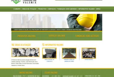 CRIAÇÃO DE SITES: WEBSITE VALEMIX
