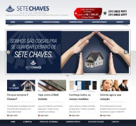CRIAÇÃO DE SITES: WEBSITE 7 CHAVES – WORDPRESS