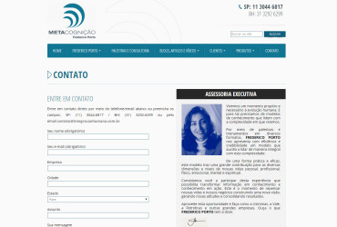 CRIAÇÃO DE SITES: WEBSITE FREDERICO PORTO – WORDPRESS