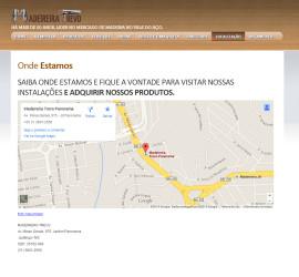 CRIAÇÃO DE SITES: WEBSITE MADEIREIRA TREVO – WORDPRESS