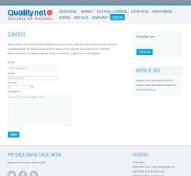 CRIAÇÃO DE SITES: WEBSITE QUALITYNET – WORDPRESS
