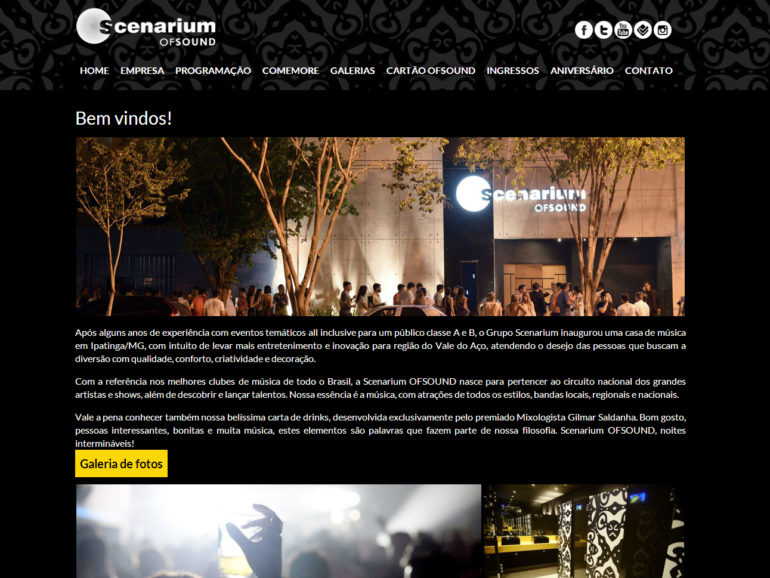 CRIAÇÃO DE SITES: WEBSITE SCENARIUM – WORDPRESS