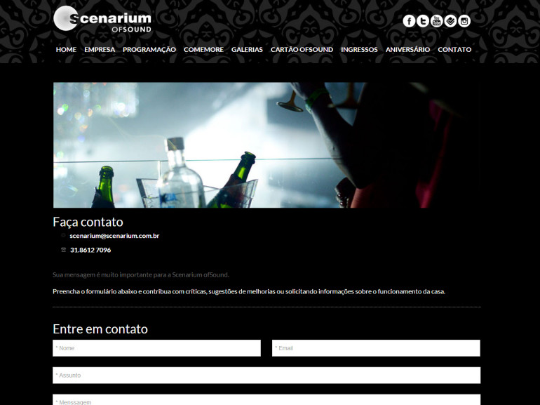 CRIAÇÃO DE SITES: WEBSITE SCENARIUM – WORDPRESS