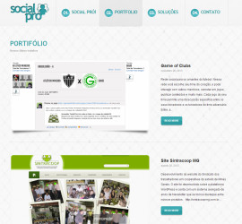 CRIAÇÃO DE SITES: WEBSITE SOCIAL PRO – WORDPRESS