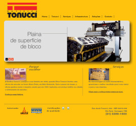 CRIAÇÃO DE SITES: WEBSITE TONUCCI – WORDPRESS