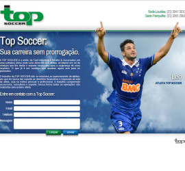 CRIAÇÃO DE SITES: HOTSITE TOP SOCCER – WORDPRESS