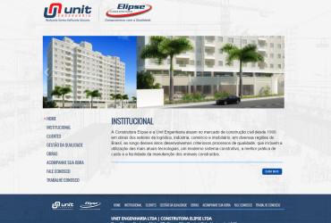 CRIAÇÃO DE SITES:  WEBSITE CONSTRUTORA ELIPSE – WORDPRESS
